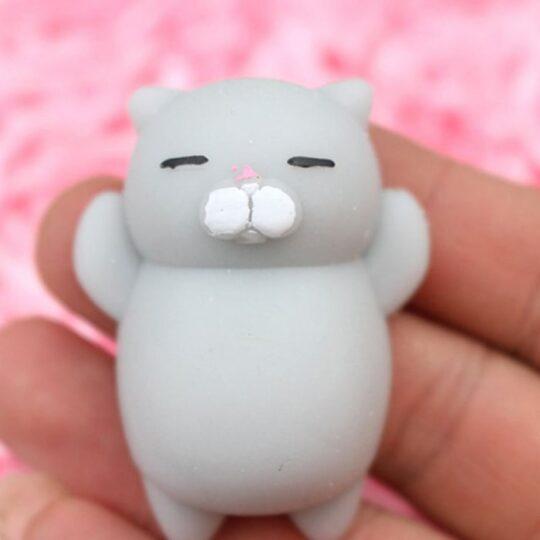 عروسک نرمالو طرح گربه