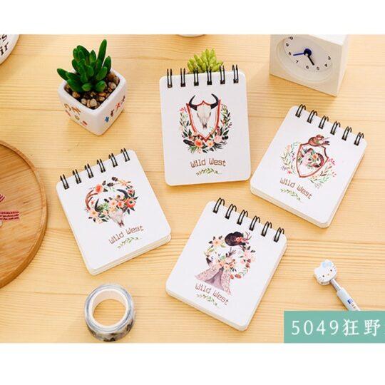 دفترچه سیمی طرح حیوانات سری 2